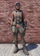 FO76 Field Scribe Outfit with Hat