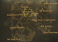 Atomic Wrangler Casino map