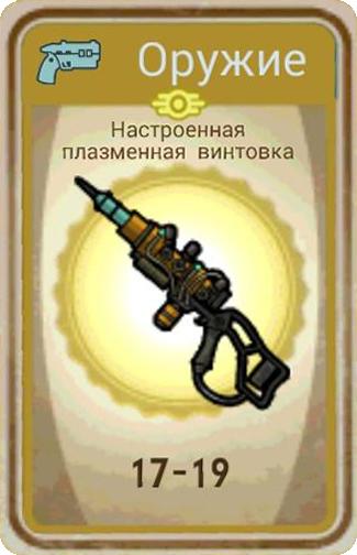 Настроенная плазменная винтовка