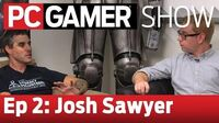 The PC Gamer Show Episode 2 Pillars of Eternity, Fallout New Vegas, Divinity Original Sin