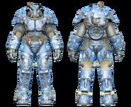 FO4CC X-01 power armor aquatic camo