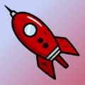 FO76 Atomic Shop Red rocketship player icon.png