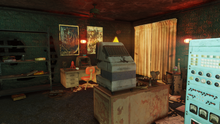 FO76 Freddy Fear's roof room