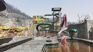 FO76 Wavy Willard's Water Park (Ssslither Slide)