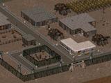 Vault City courtyard