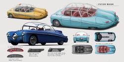 Концепт-арт автомобиля