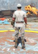Baseball Uniform, Back View (Male)