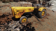 FO76 Yellow tractor large variant