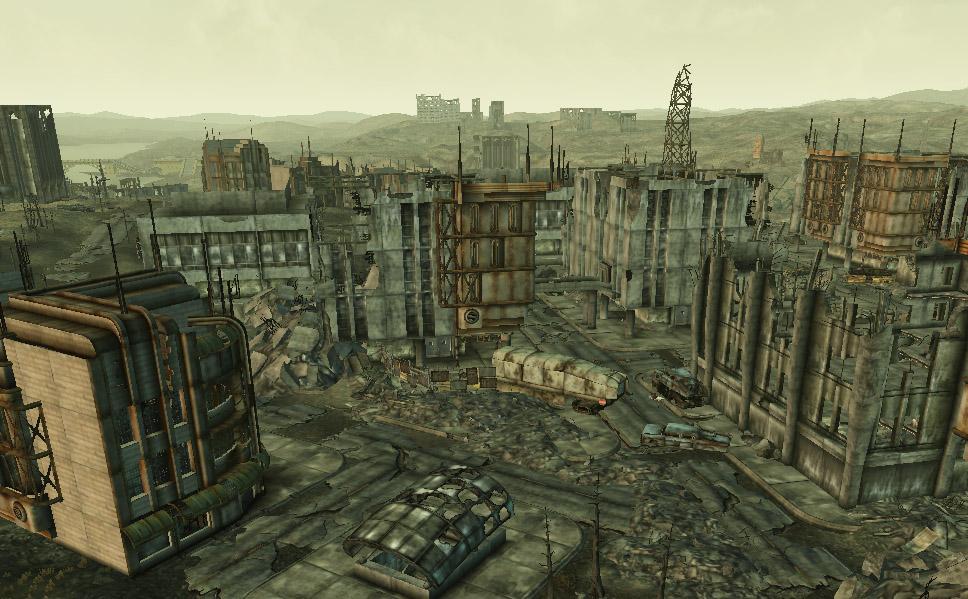 Ruiny Bethesdy