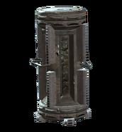 Ruptured HalluciGen gas canister