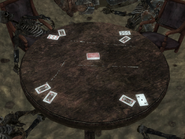 FNV Ruby Hill mine cards open