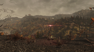 FO76WA Pylon ambush site forest