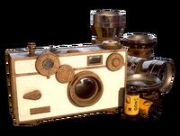 FO76 Atomic Shop - White crocodile camera paint