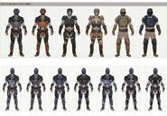 FO76 Enclave Scout Armor Concepts 2