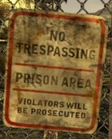 FoNV No Trespassing