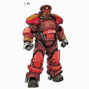 FO76 Chris Ortega (Communist Power Armor Concepts 1a)
