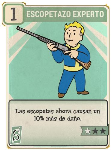 Escopetazo experto