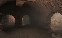 Fo4 sarge castle tunnels.png