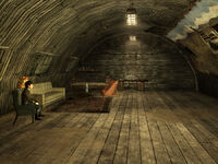 Nellis Boomer museum interior