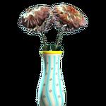 New teal flared vase.png
