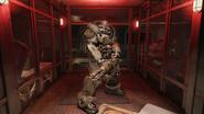 FO76SR Hellcat power armour (promo)