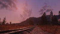 FO76 Cranberry Bog railway