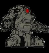 FO76 Legendary Perk Heavy Duty Art