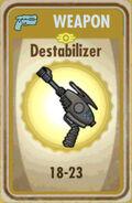 FoS Destabilizer Card