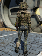 FO76WL Ghillie Suit Back