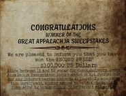 FO76 GAS prize certificate 02