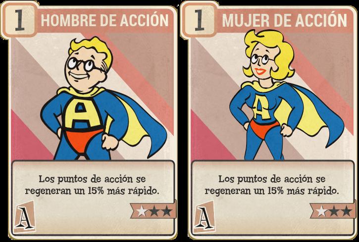 Hombre de acción/Mujer de acción