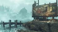 Fallout4 FarHarbor WelcomeSign