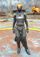Fo4CC Chinese stealth armor female