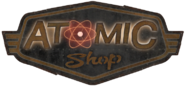 Atomic Shop Sign