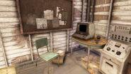 FO76 Investigator's cabin (Curtis Wilson's terminal)