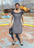 Fo4Sequin Dress male