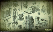 Art of Fallout 3 industrial CA1