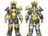 Horse power armor