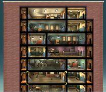 FOS Quest - Der Überragende Il Forno - Übersicht Gebäude - obere Hälfte