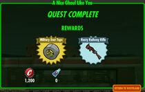 FoS A Nice Ghoul Like You rewards