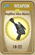 FoS Amplified Alien Blaster Card