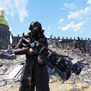 FO76 Score S3 Skin Weaponskin Gauss Rifle Presidential C1