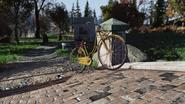 FO76 Yellow bicycle Whitespring
