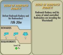 FoS Reign of Radroach Rodney! card