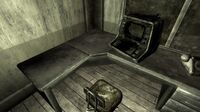 Gypsum quarry office desk