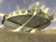 Alien Spaceship Underside