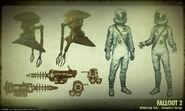 Art of Fallout 3 Zeta items CA1