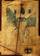 FO76 mothman drawing