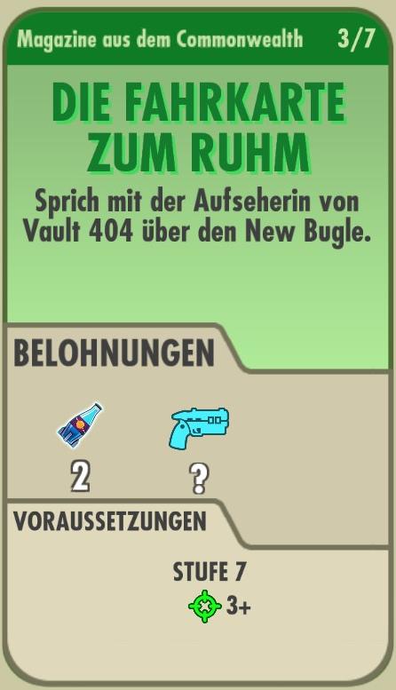 Die Fahrkarte zum Rum