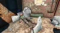 Fo4 Old Granary burying ground (Gunner corpse)